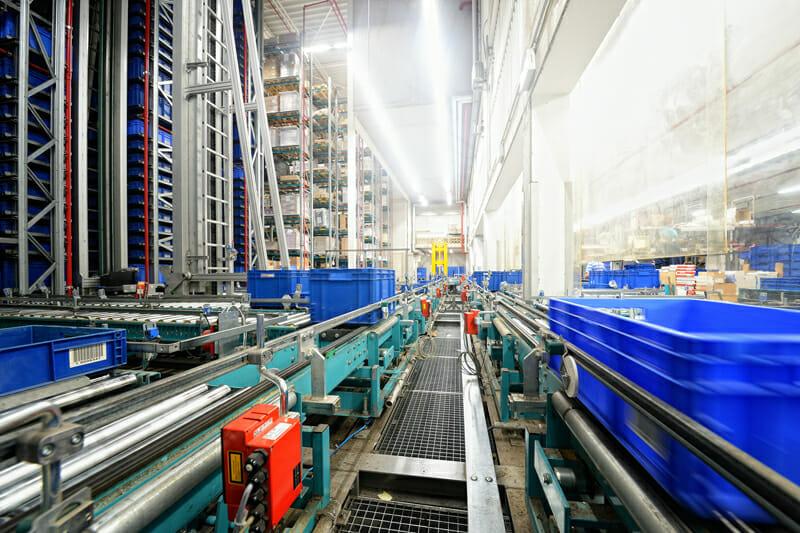 Retrofit Materialflussrechner beim SCM Verlag